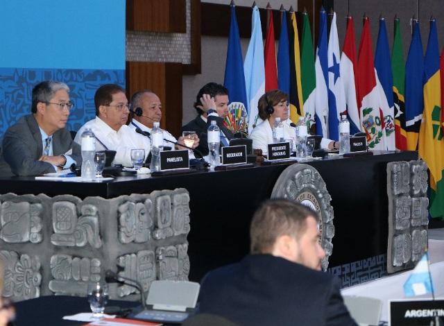 Ministro - Reunión MISPA VI - 17