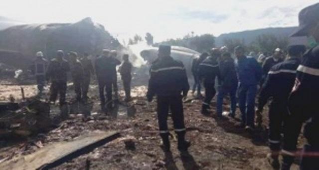 avión estrellado Argelia