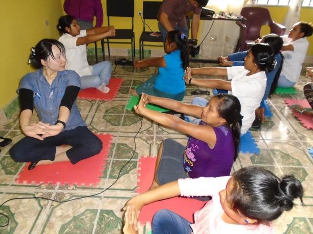 2.Voluntaria JICA en Salud 2