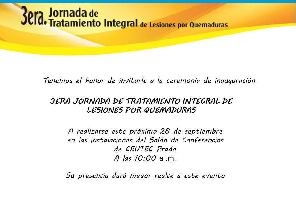INVITACION 3ERA JORNADA